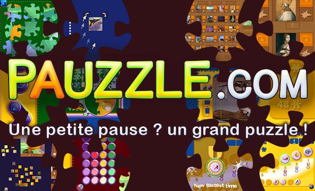 Project visual Une petite pause ? Un grand puzzle ! Pauzzle.com