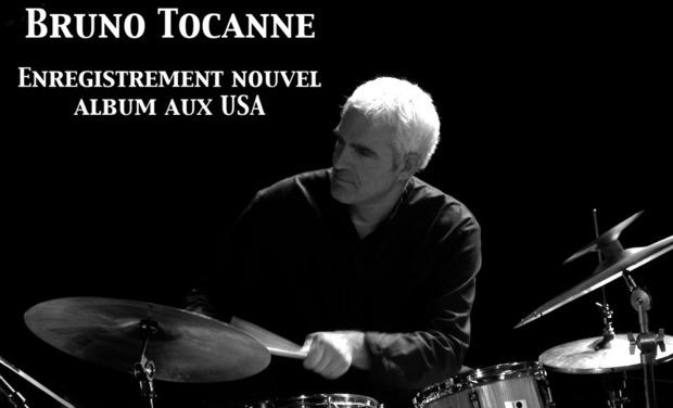 Visuel du projet Enregistrement nouvel album Bruno Tocanne aux USA