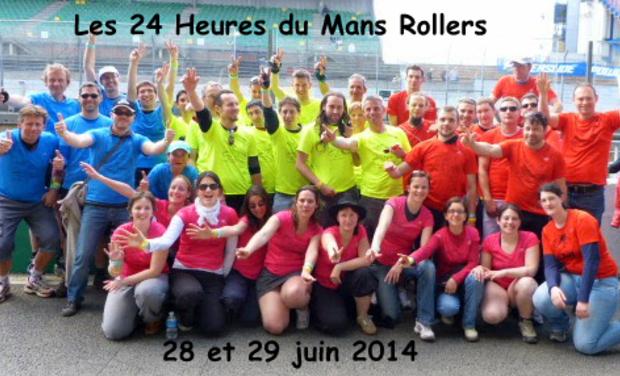 Project visual Les 24 Heures du Mans Rollers
