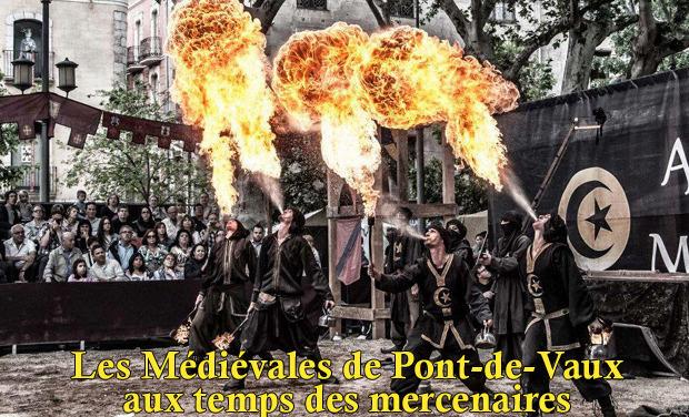 Visuel du projet Les Médiévales de Pont-de-Vaux : aux temps des mercenaires. Samedi 30 et dimanche 31 Août 2014