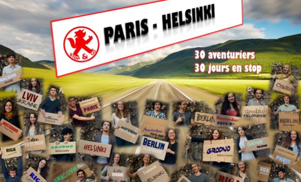 Visuel du projet Stop&Go : Paris-Helsinki