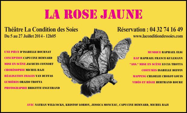 Visuel du projet La rose jaune
