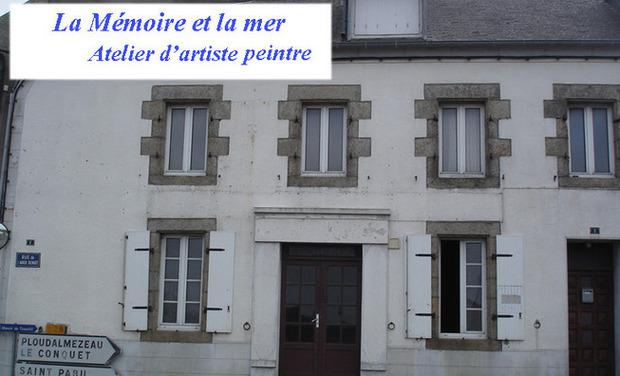 Visuel du projet La mémoire et la mer - Atelier d'artiste peintre