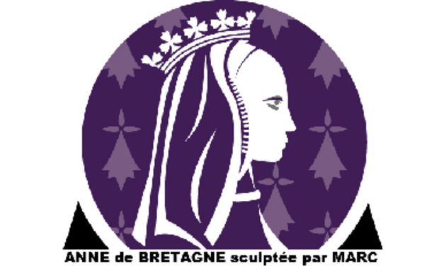 Visuel du projet Anne de Bretagne sculptée par Marc Simon à Saint-Aubin du Cormier
