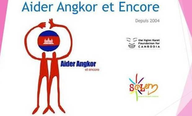 Visuel du projet Aider Angkor Et Encore 2014