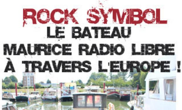 Visuel du projet L'unique Bateau Maurice Radio Libre naviguant à travers l'Europe !
