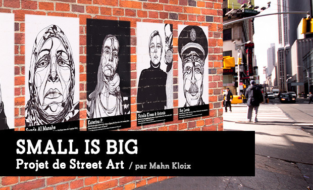 Visuel du projet Small is Big - Street Art Project
