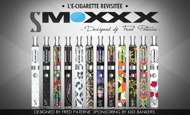 Project visual SMOXXX, l'e-cig design !