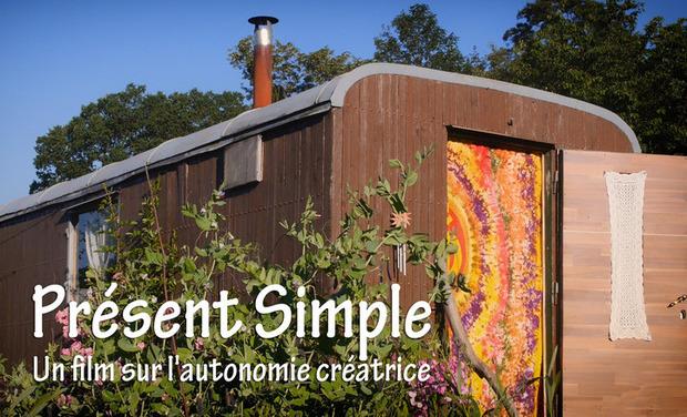 """Project visual """"Présent Simple"""", un film sur l'autonomie créatrice"""
