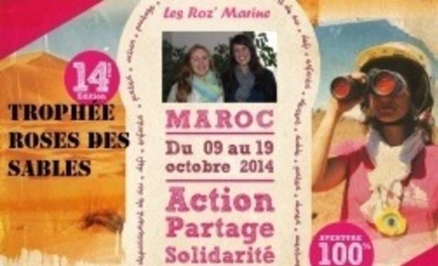 Project visual Les Roz' Marine - Trophée Roses des Sables 2014