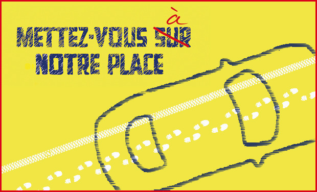 Project visual Sus au parking sauvage !