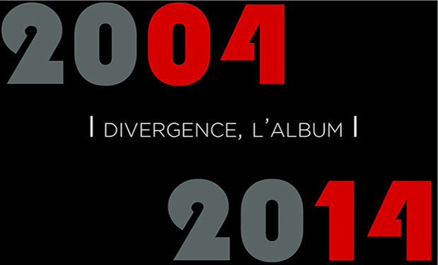 Visueel van project Divergence, l'Album 2004-2014