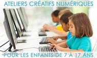 Widget ateliers creatifs numeriques enfants