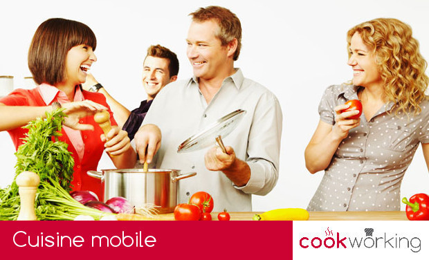 Project visual Cookworking - cuisine mobile