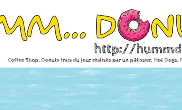 Visuel du projet Humm...Donuts  Arrive à Paris! Des Donuts à l'américaine frais et authentiques du jour, réalisés par un pâtissier.