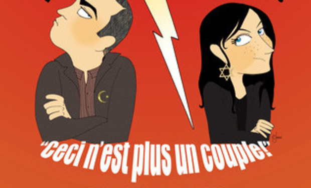 Visueel van project Ceci n'est plus un couple - Avignon Off 2014