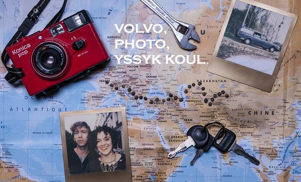 Visuel du projet Volvo, photo, Yssyk Koul.