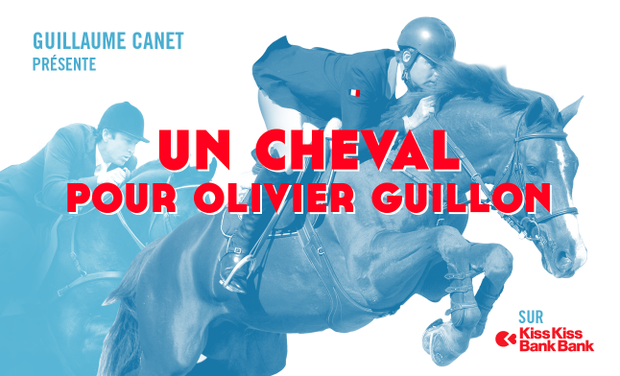 Project visual Un cheval pour Olivier Guillon