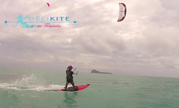 Visuel du projet Défi kite au Féminin