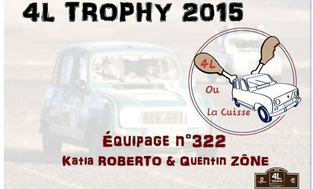 Project visual 4L Trophy : Raid Humanitaire