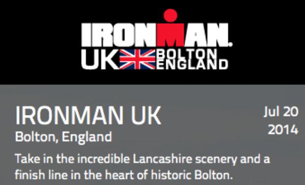 Visuel du projet Road to Ironman UK