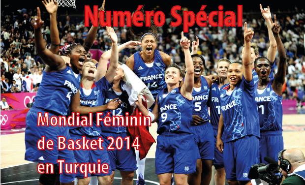 Visuel du projet Numéro spécial mondial féminin de basket 2014 en Turquie