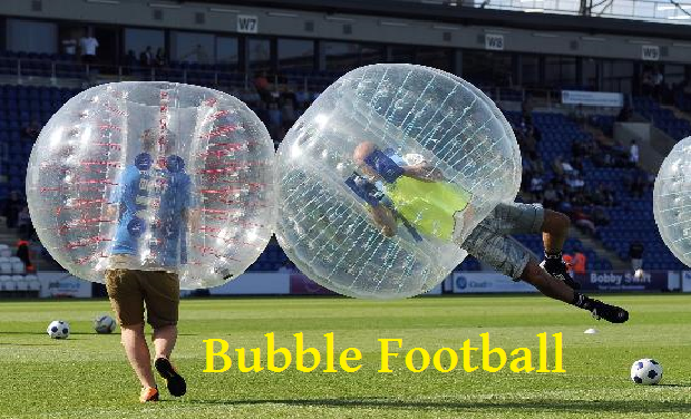 Project visual Bubble Football Tour