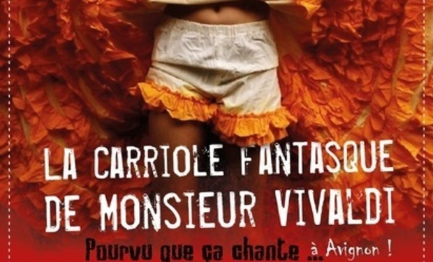 Project visual La Carriole Fantasque s'aventure à Avignon !
