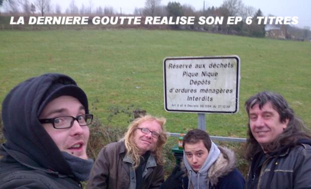 Visueel van project LA DERNIERE GOUTTE REALISE SON EP 6 TITRES