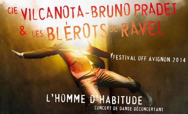 Visuel du projet L'homme d'habitude au festival Off d'Avignon
