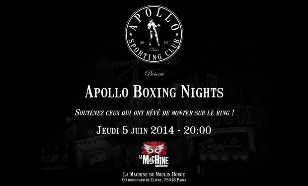 Visuel du projet Apollo Boxing Nights 2014