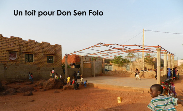 Visuel du projet Ecole de danse du Mali DON SEN FOLO : fin des travaux