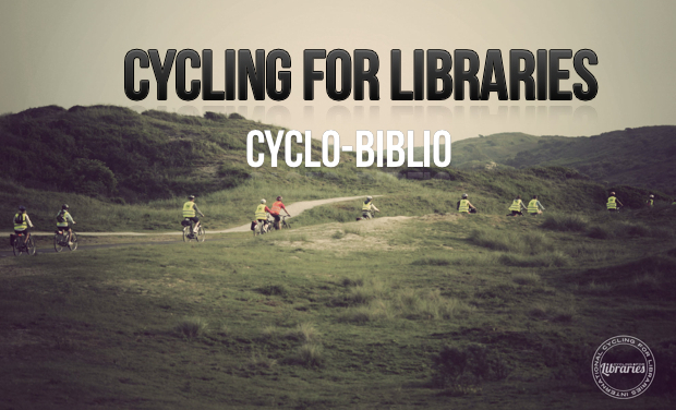 Visuel du projet Cyclo-biblio (Cycling for libraries)