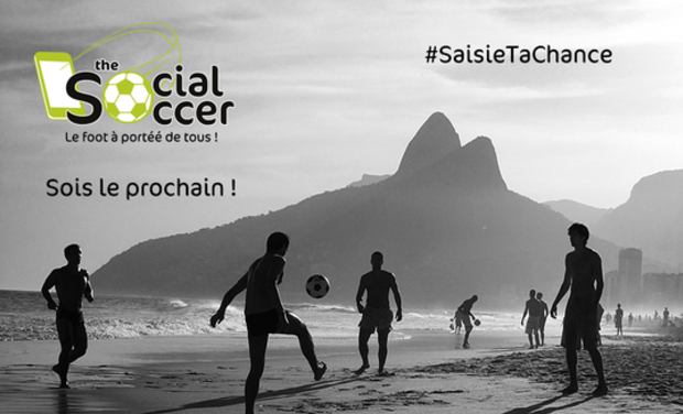 Project visual TheSocialSoccer.com