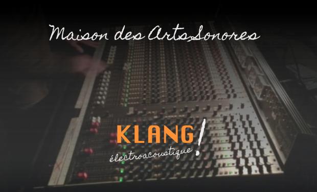 Project visual Maison des Arts Sonores