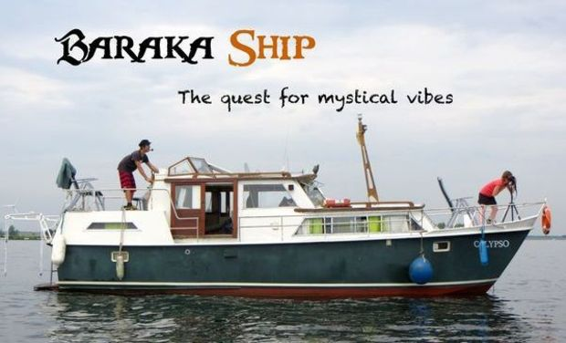 Visuel du projet Baraka Ship - The quest for mystical vibes
