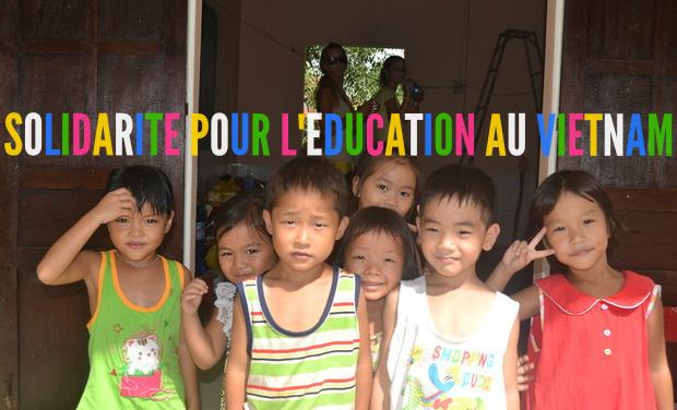 Visuel du projet Solidarité pour l'éducation au Vietnam