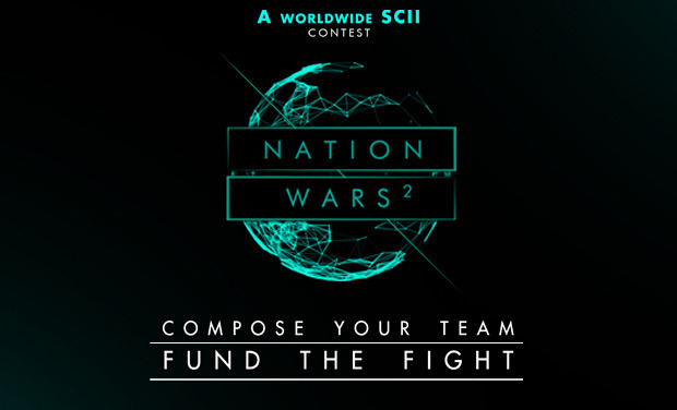 Project visual NationWars 2 au Trianon de Paris