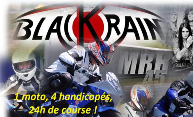 Visuel du projet Une première mondiale: 1 moto adaptée, 4 handicapés physiques, 24 heures de course au Mans