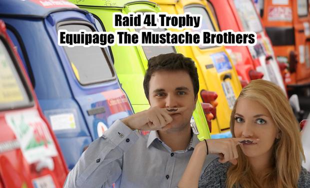 Visuel du projet Raid 4L Trophy - Equipage Mustache Brother