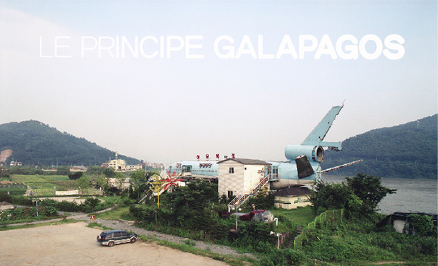 "Project visual ""Le Principe Galápagos"", catalogue de l'exposition"