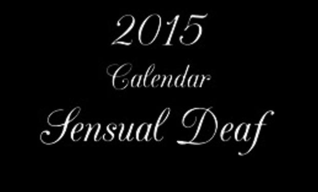 Visuel du projet 2015 Calendar Sensual Deaf