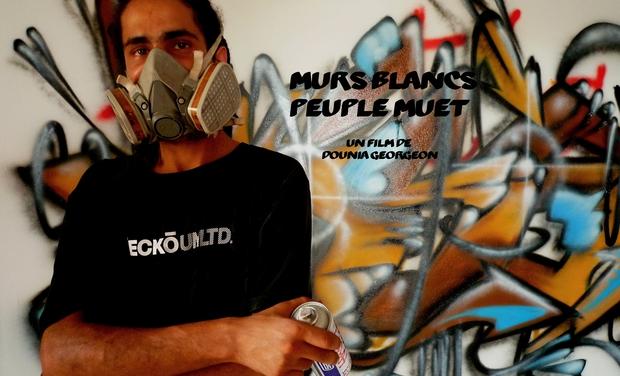 Project visual Murs blancs - peuple muet