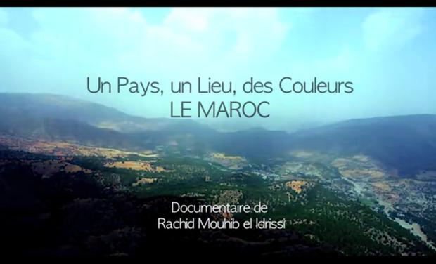 Visuel du projet Un Pays, un Lieu, des Couleurs, LE MAROC