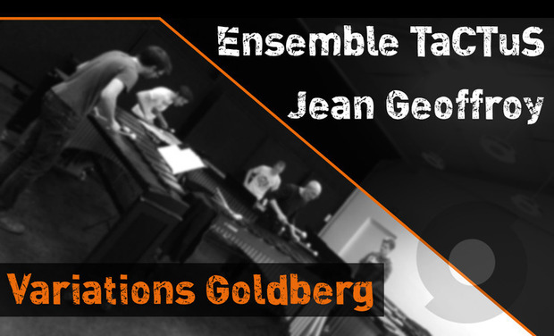 Visueel van project Enregistrement CD // Variations Goldberg