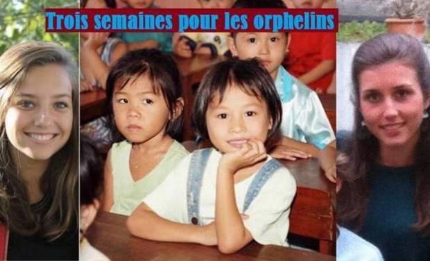 Visuel du projet Trois semaines pour les orphelins du Vietnam