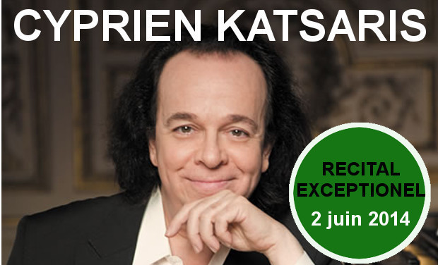 Visuel du projet Cyprien Katsaris au Palais Royal