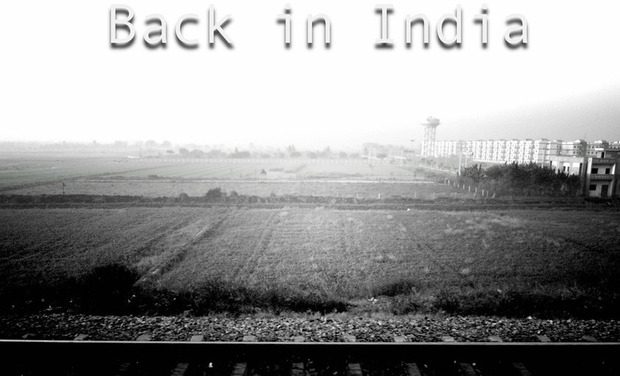 Project visual Back in India