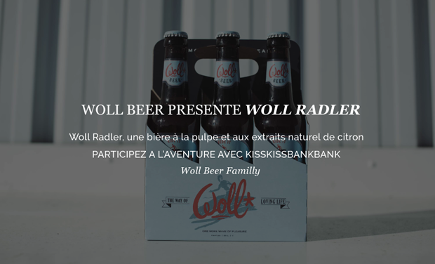 Project visual Woll Radler