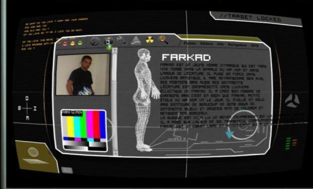 Visueel van project 2ème album de l'artiste rap Farkad